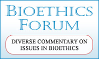 Bioethics Forum