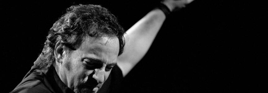 Milan Italy, 19 April 1999 ,Live concert of Bruce Springsteen & The E Street Band at the FilaforumAssago: The singer Bruce Springsteen during the concert