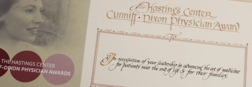 Illustrative image for Hastings Center Cunniff-Dixon Physician Awards