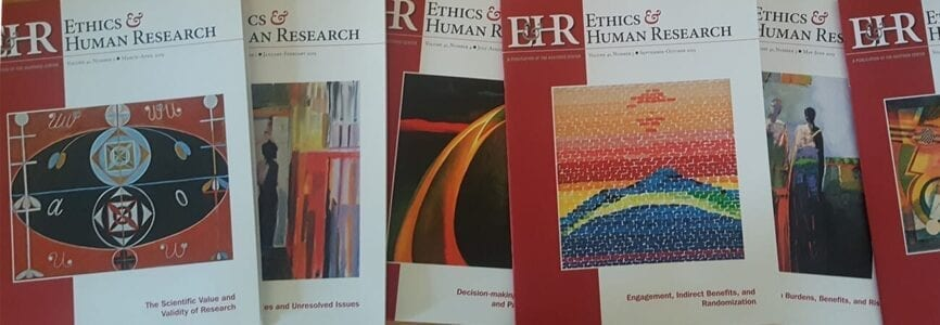 Ethics and Human Research Covers