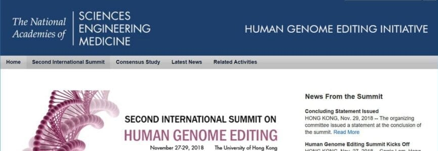 Illustrative image for Should We Edit the Human Germline? Is Consensus Possible or Even Desirable?