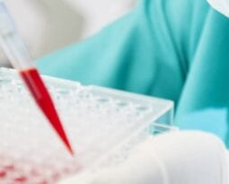 Doctor with Blood Samples