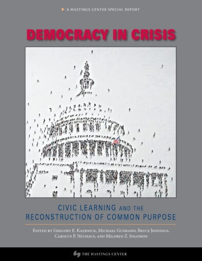 Democracy in Crisis: Civic Learning and the Reconstruction of Common Purpose