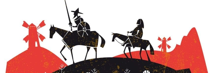 Illustrative image for Quixote Reimagined:  Magical Realism Meets the Opioid Epidemic
